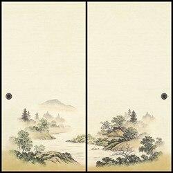 Japanese Fusuma Door Paper 2 Sheets/Pair Washi Woodblock Decor Decorative Wall Paper Soji Sliding Door  Bedroom, Living Room