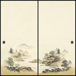 Japanischen Fusuma Tür Papier 2 Blätter/Paar Washi Holzschnitt Decor Dekorative Wand Papier Soji Schiebetür Schlafzimmer, wohnzimmer