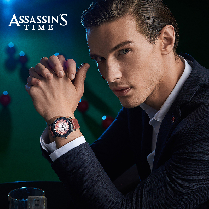 Assassin's Time Fashion Sport Watch Meeste Quartz Watch Luksuslik - Meeste käekellad - Foto 2
