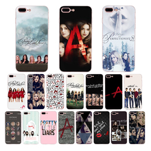 HOUSTMUST TV series Pretty Little Liars PLL soft Phone Case for iPhone 7 6 6S 8 Plus XR X XS MAX 5 5S SE TPU cover Shell Coque