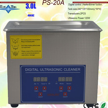 Digital Ultrasonic-Cleaner Bath Free-Basket 40khz 3L PS-20A 220V with for Small-Parts