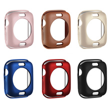 Watch Protect Case Frame Soft TPU Cover for Apple Watch Series 4  IWatch 40mm 44mm Solid Watch Accessories