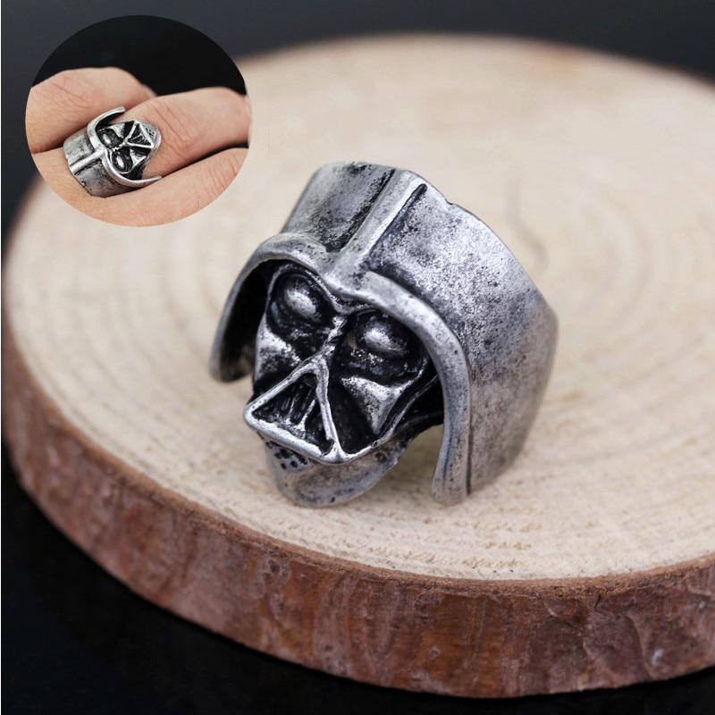 Star Wars Darth Vader Ring Men Punk