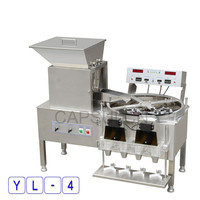 220V 50HZ YL 4 Automatic Capsule Counter Machine Automatic Stainless Steel Desktop Quantitative Machine For