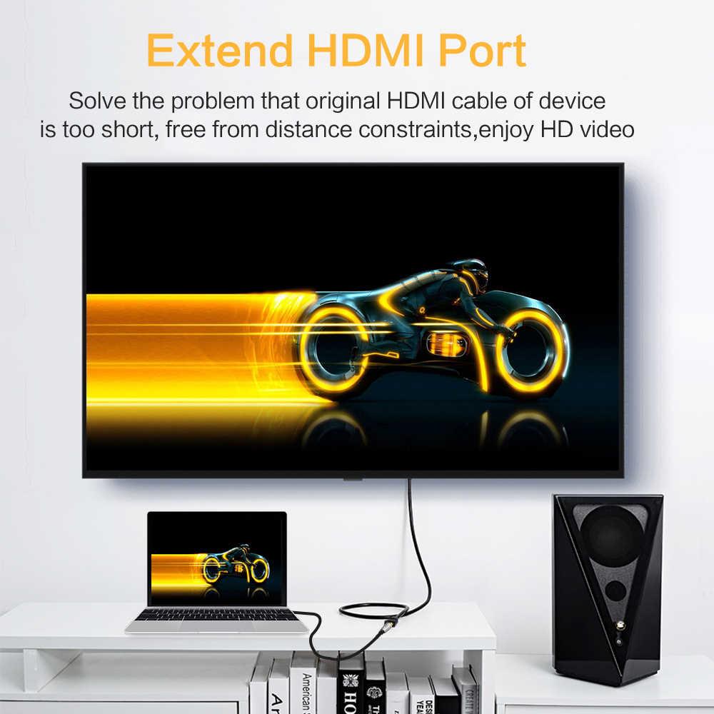 Cable de extensión HDMI extensor macho a hembra Cable HDMI 50CM 1M 2M 3M 3D 1080P 1,4/2,0 V para HDTV LCD computadora portátil Xbox PS3 para proyector