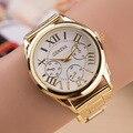 Senhoras Relógio Relógios Das Mulheres Relógio de Genebra Subiu Relógio de Ouro Mulheres Relógios de Quartzo Reloj Mujer Montre Femme Relogio Kol Saat Bayan