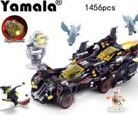 Yamala Marvel Super Heroes Genuine Movie The Ultimate Batmobile Building Blocks Bricks Toys Compatible With