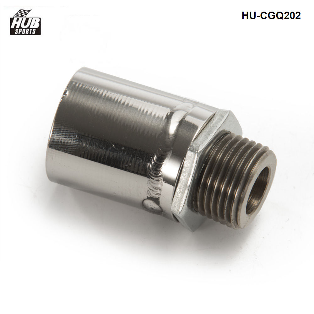s -O2 stainless steel oxygen sensor bung adapter extension extender M18-1.5 HU-CGQ202