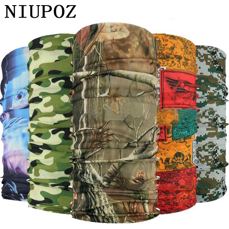 2019 New Multi Functional Bandana Headband Ring Neck Scarf Camouflage Leaves Seamless Tubular Magic Face Scarf Gift For Baby