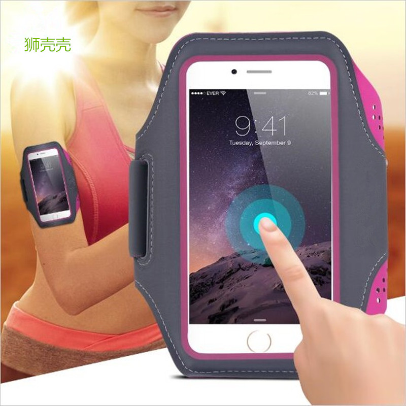 Sports Armband Running Case for iPhone X SE 6 6S 7 8 Plus Cases Cover Gym Arm Band Sport Cover Holder Bag Phone Cases for huawei