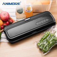 ANIMORE Food Vacuum Sealer Machine With 10pcs Bags Free For Food Saver Home Electric Packaging Machine Vacuum Sealer