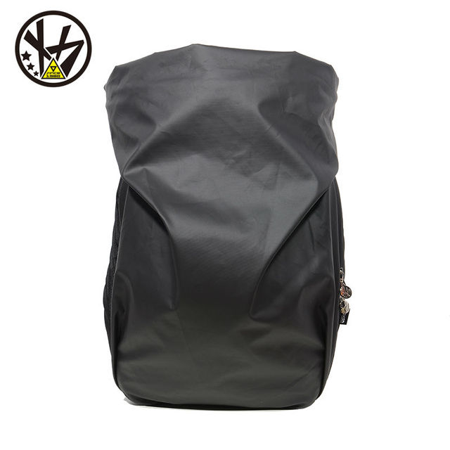 MACKAR Men Male Backpack Cool Schoolbags College Student Backpack Bags  Leisure Laptop Backpacks Black Rubber Oxford Rugzak 8b50fa3f9d