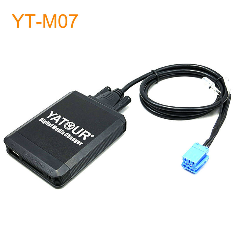 Yatour Car MP3 USB SD CD Changer for iPhone for iPod AUX with Optional Bluetooth for Citroen C3 C4 C5 C8 Xsara yatour car mp3 usb sd cd changer for ipod aux with optional bluetooth for toyota carina celica coaster highlander land cruiser