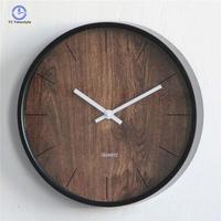Round Nordic Wall   Clock   Living Room Mute Large Digital Decorative Wall   Clocks   Modern Design Single Face Watch