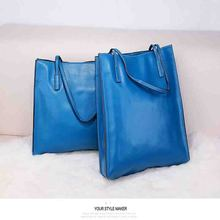 2016 genuine leather women handbag high quality Cowhide Famous Brand Lady Shoulder Bag women Two styles Casual Big Shopping Tote