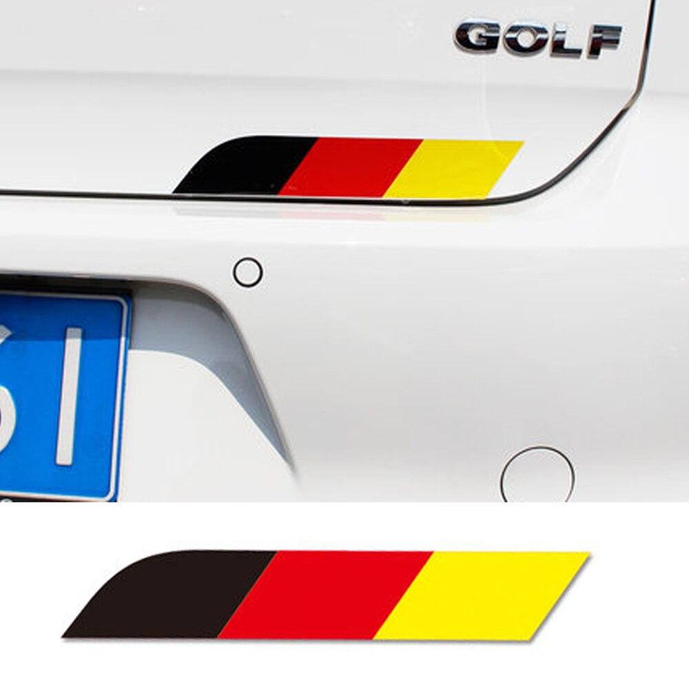 MotorSport Volvo Emblem Badge Car Body Side Skirt Sticker Trunk Decal