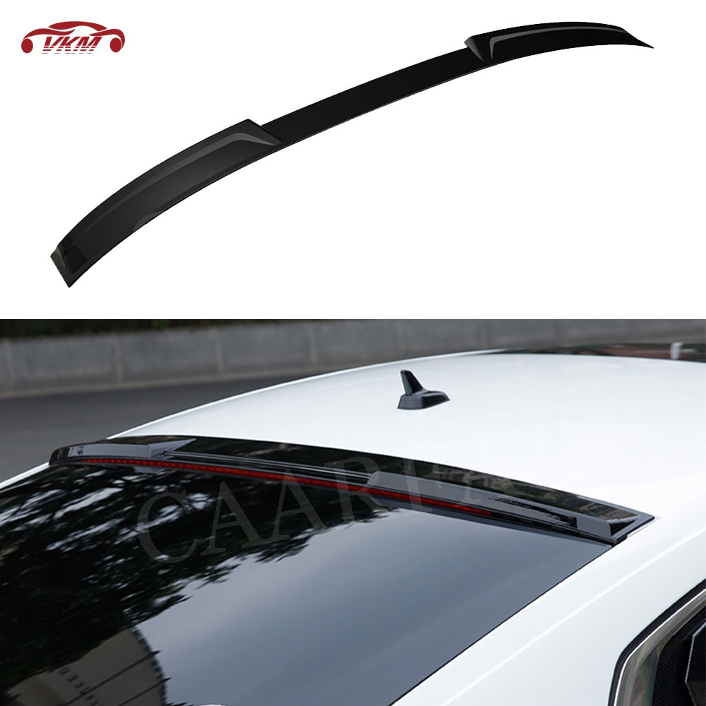 New For CC 2019 Rear Roof Spoiler Window Aprons Winglet