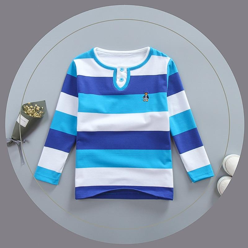 Jungen Kleidung T-shirts Diszipliniert Bibicola Neue Jungen Striped Frühling Herbst Polo Shirts Baumwolle Jungen Kleidung Langarm Tops Kinder Polo-shirt Mode Jungen Kleidung Schmerzen Haben