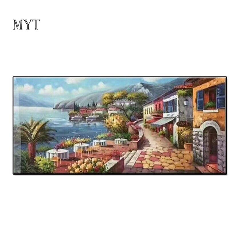 100% image réelle peinture à l'huile chaude Photos paysage de mer Pure peint à la main Photos ou Photos de photographie Art mural sans cadre