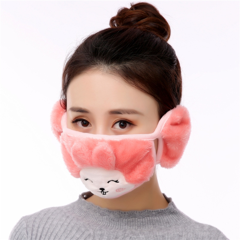 5pcs/Pack Kawaii Training Maskeler Riding Face Shield Maski Anime Female Masker Children Mouth Mask Kpop In Ear Gas Mask