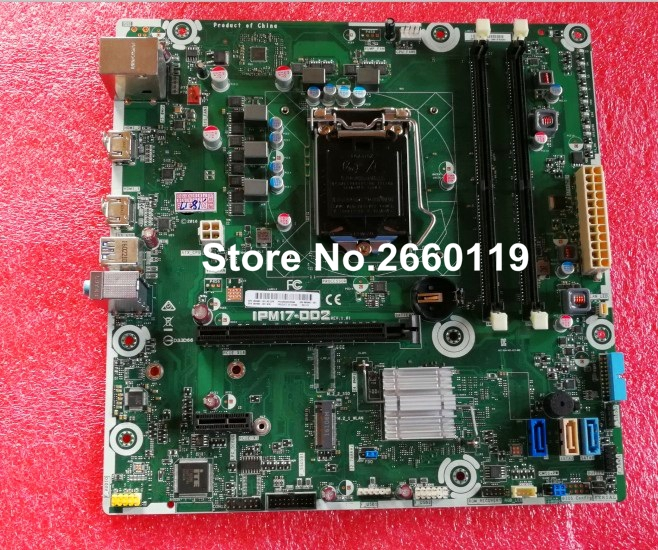 US $102 0 |Desktop motherboard for IPM17 DD2 862992 001 862992 601 system  mainboard fully tested-in Motherboards from Computer & Office on