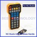 CNC маховик NC Studio USB беспроводной пульт дистанционного управления 3 оси CNC контроллер для ЧПУ гравировальный станок weihong системы