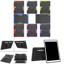 Case For brand new iPad Professional 10.5″ 2017 A1701 Cowl Heavy Obligation 2 in 1 Hybrid Rugged Sturdy Shockproof Rubber Funda Pill Shell