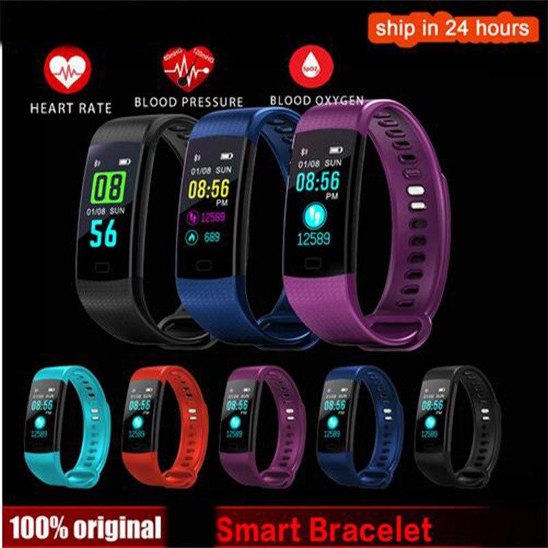 K20 Цвет Экран спортивный браслет на запястье браслет сердечного ритма крови Давление монитор Фитнес трекер для Cubot X15 X12 X17 X9 X6