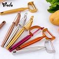 1 шт Многофункциональный Нержавеющаясталь нож овощи фрукты картофель морковь острый нож Кухня инструменты Кухня аксессуары