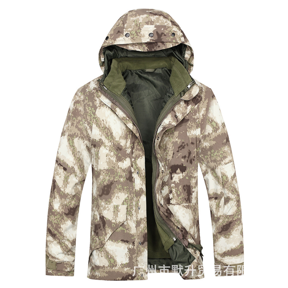military tactical waterproof jacket for men G8 jacket to keep warm waterproof coat shark piece leather lurker shark skin soft shell v4 military tactical jacket men waterproof windproof warm coat camouflage hooded camo army clothing