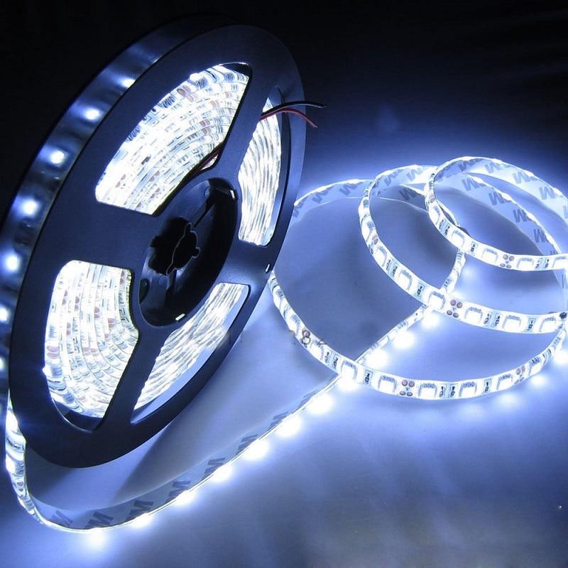 Waterproof 5050 Tape Light: New Waterproof 5M LED Tape 5050 Day White 300 LED Light