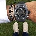 Men Black Bracelet,Pave Black CZ Zircon Connector & 7mm Coconut shell Bead Braiding Men Macrame Hand-woven Bracelets Mens &Women