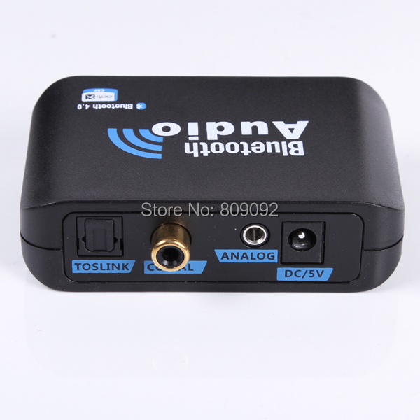 For Home Media Theate Bluetooth 4.0 Music Receiver Apt-X RCA Optical Output  New