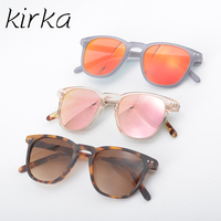 Kirka Women Acetate High Quality Fashion Sunglasses Women Popular Brand Design Sunglasses Summer With CR39 Lens