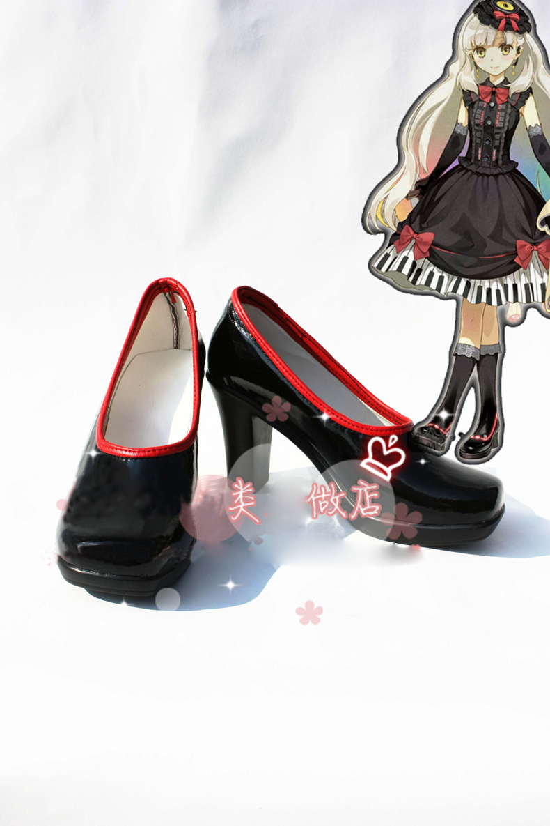 Anime VOCALOID 3 MAYU Boots Cosplay costume shoes Custom Made Halloween Free Shipping