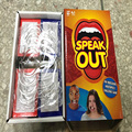 Speak Out Game Mouthguard Challenge Game Teeth Whitening Mouth Opener toys Family party game Gimmick Free shipping