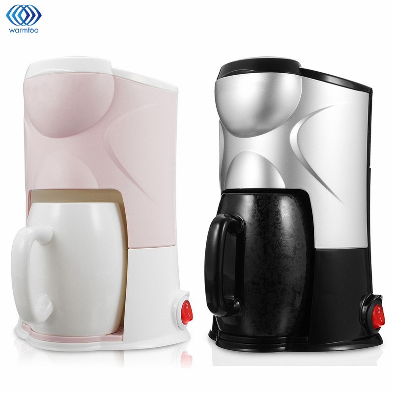 Semi-automatic Coffee Maker Drip Type Machine Cafe Americano Espresso Cafe Household Cappuccino Latte Maker 220V 300W italy espresso coffee machine semi automatic maker cup warming plate kitchen