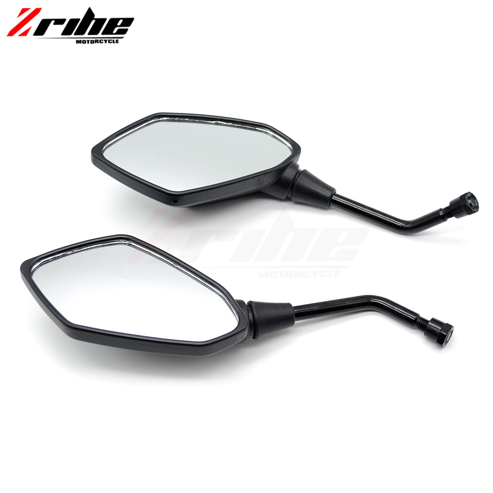for 2PCS Universal Motorcycle Side Mirrors 8mm 10mm Stem Motorcycle REARVIEW MIRROR For KTM 690 Duke SMC SMCR Enduro R ADVENTUR