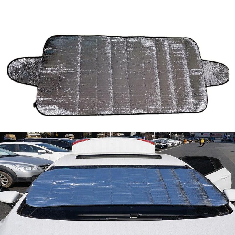 MALUOKASA 1PCS Car Windscreen Cover Anti Ice Snow Frost Shield Dust Protection Heat Sun Shade Ideally for Front Car Windshield car windscreen front
