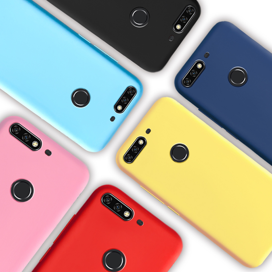 Candy Color <font><b>Silicone</b></font> <font><b>Case</b></font> For <font><b>Huawei</b></font> <font><b>Y7</b></font> Prime <font><b>2018</b></font> Soft TPU Matte <font><b>Case</b></font> Cover For <font><b>Huawei</b></font> <font><b>Y7</b></font> <font><b>2018</b></font> <font><b>Case</b></font> Funda <font><b>Huawei</b></font> Y 7 <font><b>2018</b></font> Prime image