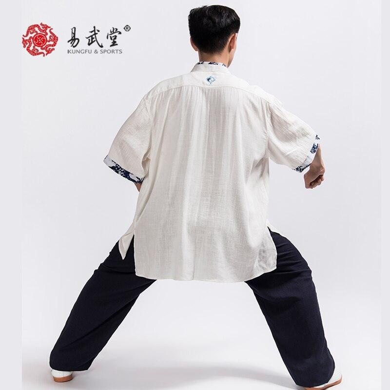 Modern Taiji Unisex Linen Uniform 3