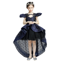 Girl Kids Baby Black Dress Halloween Cosplay Costume Little Witch Vampire Pirate Costume Princess Queen Clothes