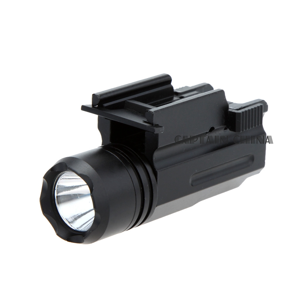 Shotgun Light Rifle Glock Gun Flash Light 600 Lumen Tactical Torch Flashlight 20mm Rail Gun Flashlight for Pistol Airsoft 20 mm