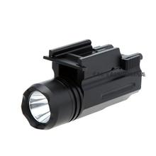 Shotgun Light Rifle Glock Gun Flash Light 600 Lumen Tactical Torch Flashlight