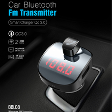 CDEN vehicle mounted Bluetooth player charger mobile fast charging FM transmitter hands-free phone music U disk