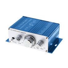 HY-2001 Hi-fi Mini Amplifier Audio untuk Motor Auto Penguat Daya Suara Stereo Mode USB/MP3/FM /DVD/SD(China)