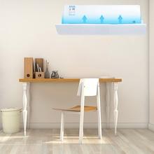 040 Mājas gaisa kondicionēšana Regulējams vējstikla gaisa kondicionēšanas deflektora aizsargs vēja vadošais mēnesis taisns pretvēja aizsargs