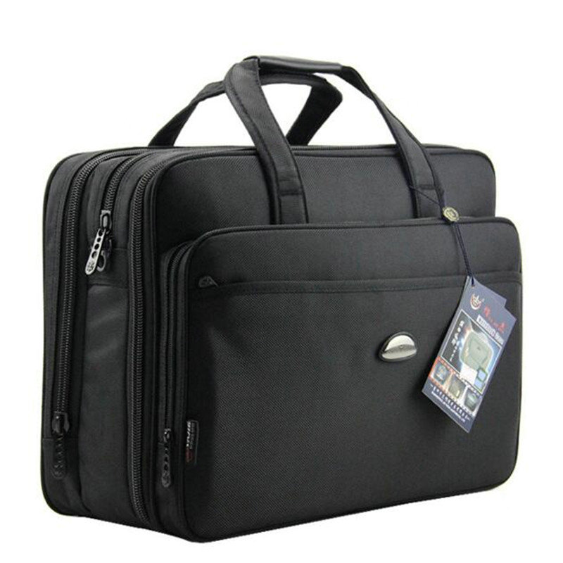 Большой Ёмкость Бизнес Для мужчин и Для женщин Сумки сумка для ноутбука Оксфорд мужской утолщение Портфели бренд Для мужчин Сумки на плечо