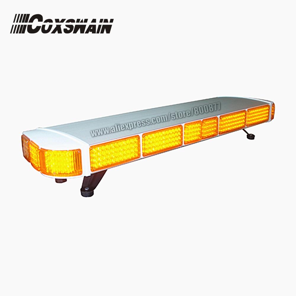 TBD-GA-08322P Car LED warning lightbar, 48 length, PC lens, Aluminum body, Ambulance Tow truck amber emergency lightbar радиоприемник goldstar ga 15fmdu black amber
