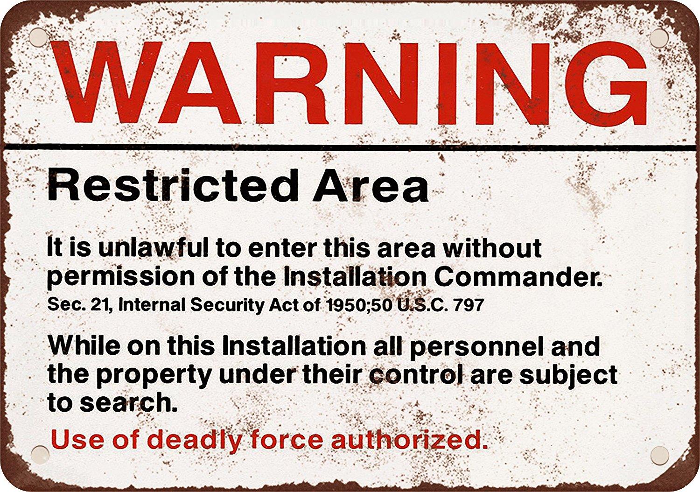 Редуктор Предупреждение запретная зона Винтаж металла признаки Бар плакат Домашний декор для Кофе и магазин Размеры: 20*30 см
